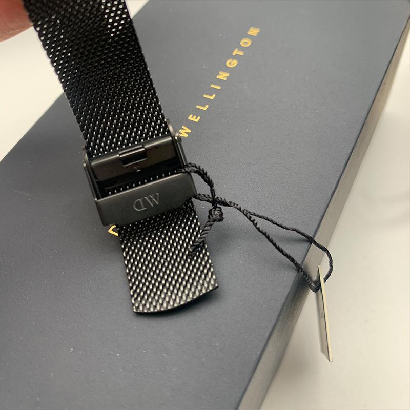 男士钢带黑盘正版 丹尼尔惠灵顿防水 男士钢带黑盘正版 36mm dw 手表男