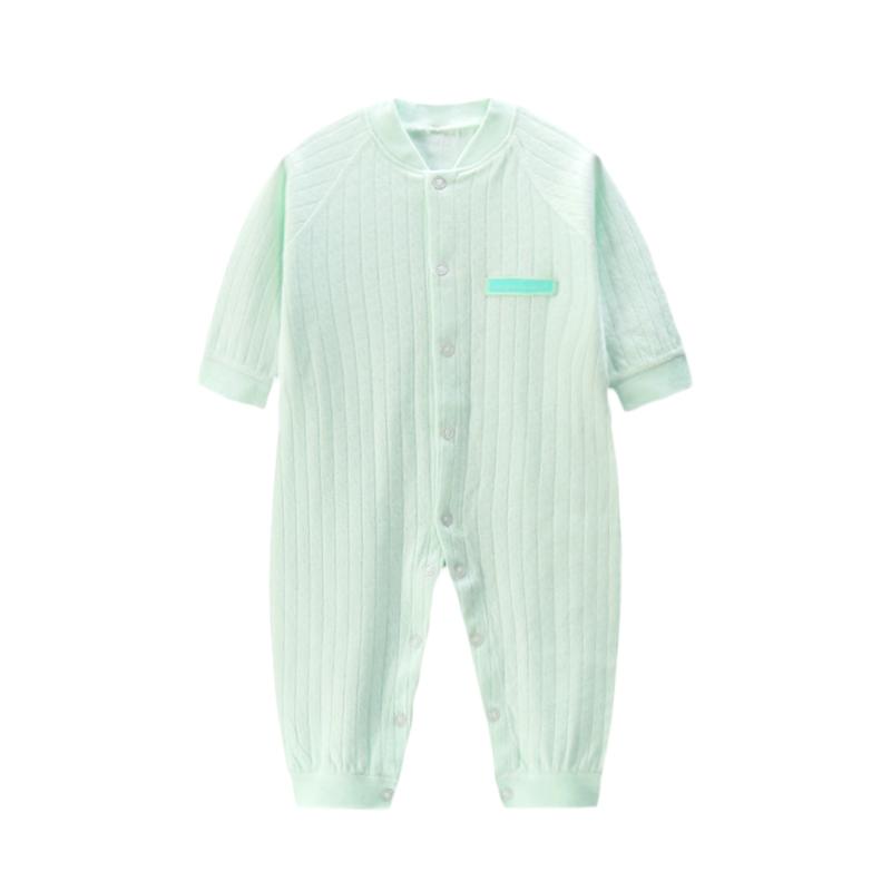 婴儿连体衣秋冬纯棉宝宝内衣可爱新生儿衣服长袖幼儿睡衣开裆爬服