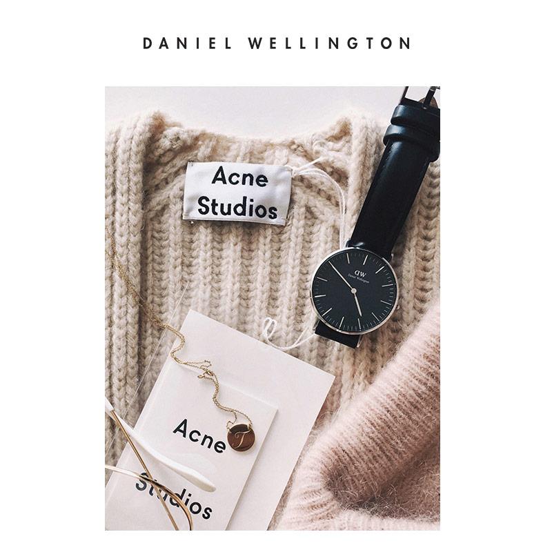 Danielwellington 丹尼尔惠灵顿DW女表石英表 36mm手表dw手镯套装