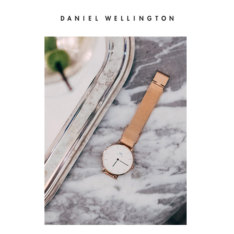 手表女 金属编织时尚女表 手表女 dw Danielwellington 丹尼尔惠灵顿