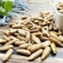 Songling new hand-peeled Brazilian pine nuts 500g small bags of large particles bulk nuts for the new year