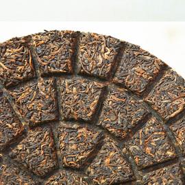 普洱茶熟茶饼云南七子饼茶叶 布朗山老班章古树普洱宫廷原料200克