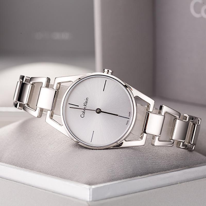时尚石英女表 K7L23646 国行联保瑞士正品钢带 联保点 70 手表 ck