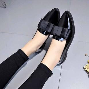 【天機玄狐】百搭款英倫風小皮鞋