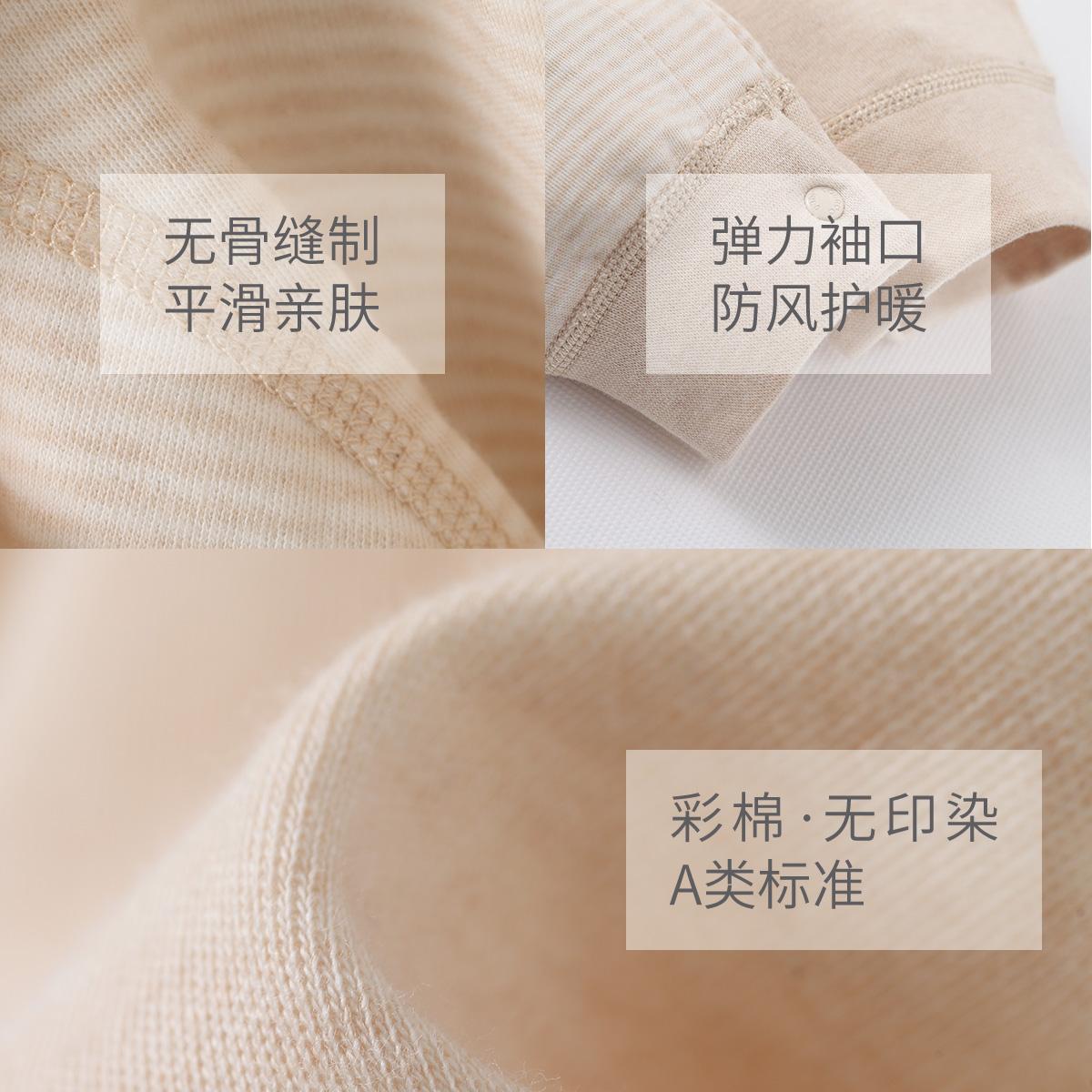 婴儿连体衣春秋衣服初生宝宝纯棉睡衣哈衣0春秋3个月新生儿衣服