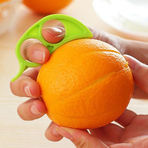 创意剥橙器居家橙子去皮器迷你开橙子的工具削皮指环拔橙器切橙器