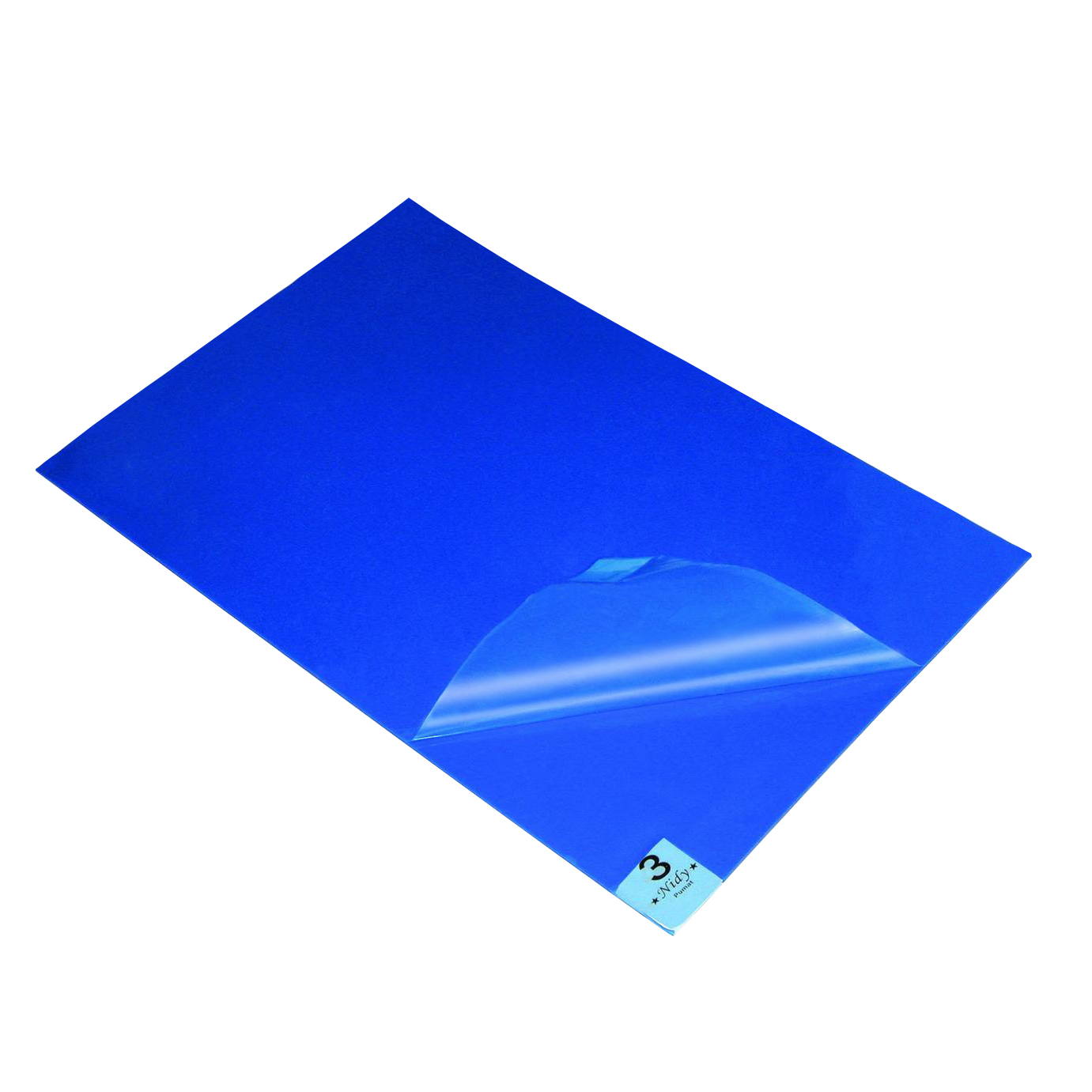 可撕式防静电粘尘垫蓝色除尘地垫无尘实验室车间家用脚踏垫60*90