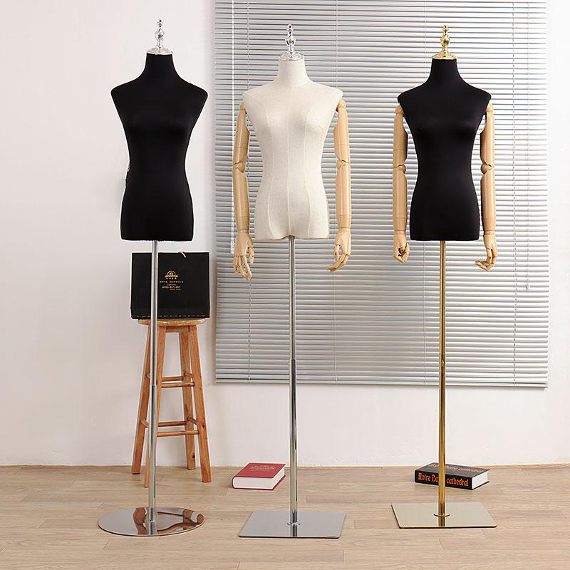 模特道具女服装店半身橱窗展示架人台全身服装婚纱衣服假人模特架