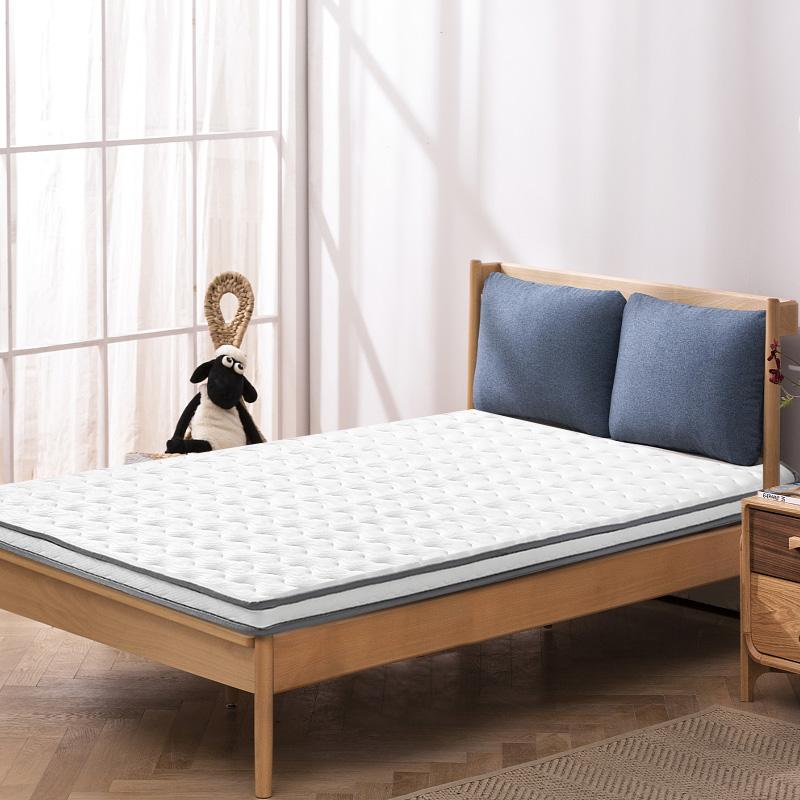 金橡樹泰國涼席乳膠床墊大學生宿舍單人可折疊床墊褥 達人推薦