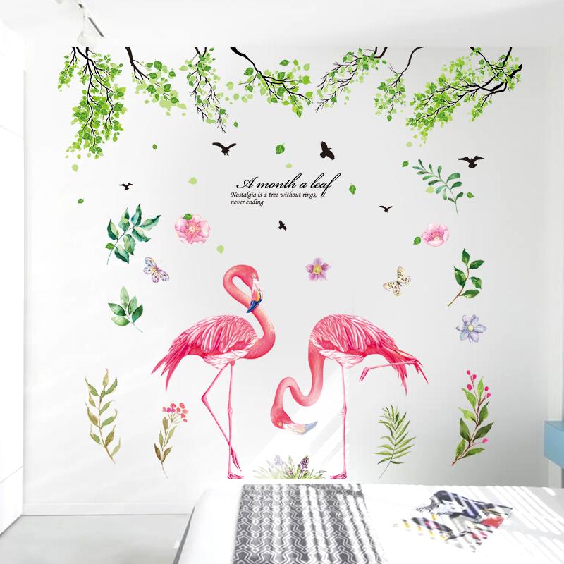 北欧ins网红卧室小房间改造用品墙面装饰温馨创意墙贴纸贴画自粘