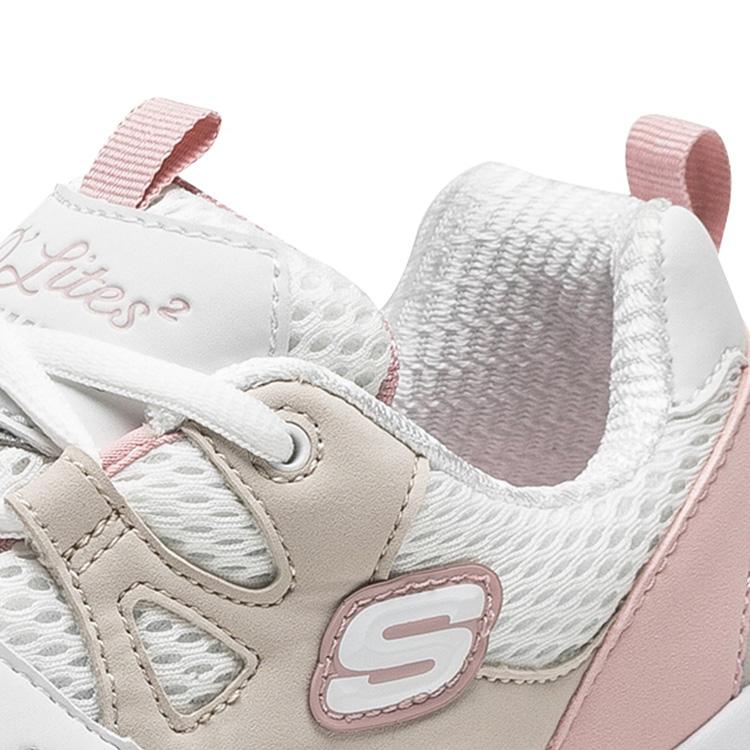 Skechers斯凯奇男女同款怪兽甜心小白鞋休闲运动鞋熊猫鞋99999693