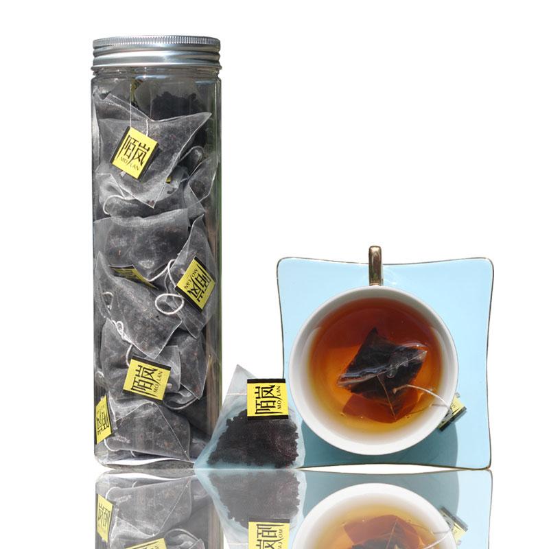 黑乌龙茶叶正品高浓度碳焙浓香型袋泡茶三角包日式油切黑乌龙茶包