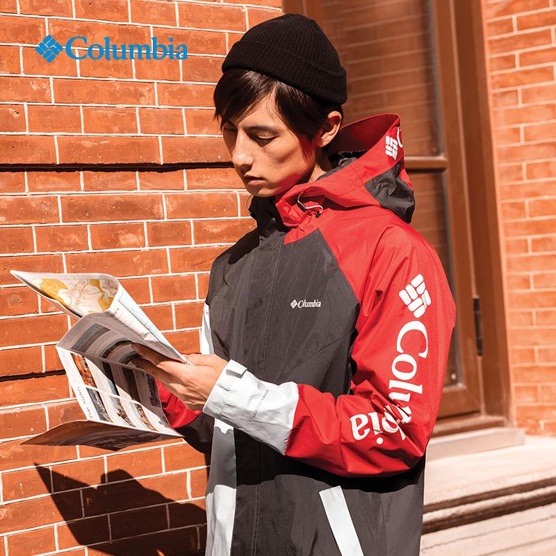 EE0644 春夏新品男款防水冲锋衣 19 哥伦比亚户外 Columbia