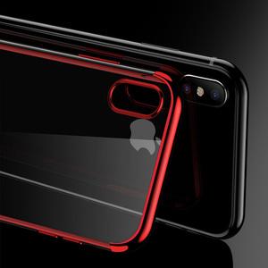 iPhoneX手机壳全包防摔苹果X套iPhone新款电镀透明三段保护壳套