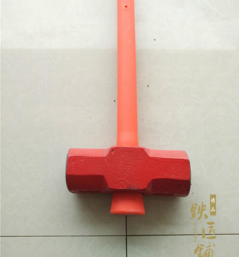 八角锤石工锤钢锤大榔头磅锤大锤重锤手锤安装锤砸石头14p/8p包邮