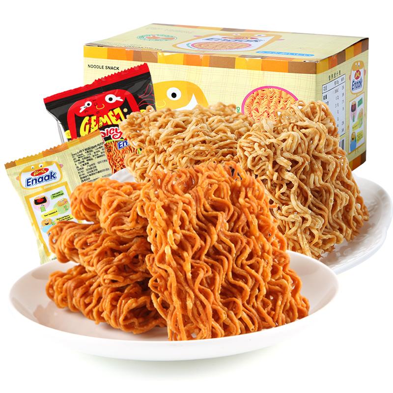 GEMEZ Enaak小鸡干脆面印尼进口网红掌心脆干吃方便面好吃的零食