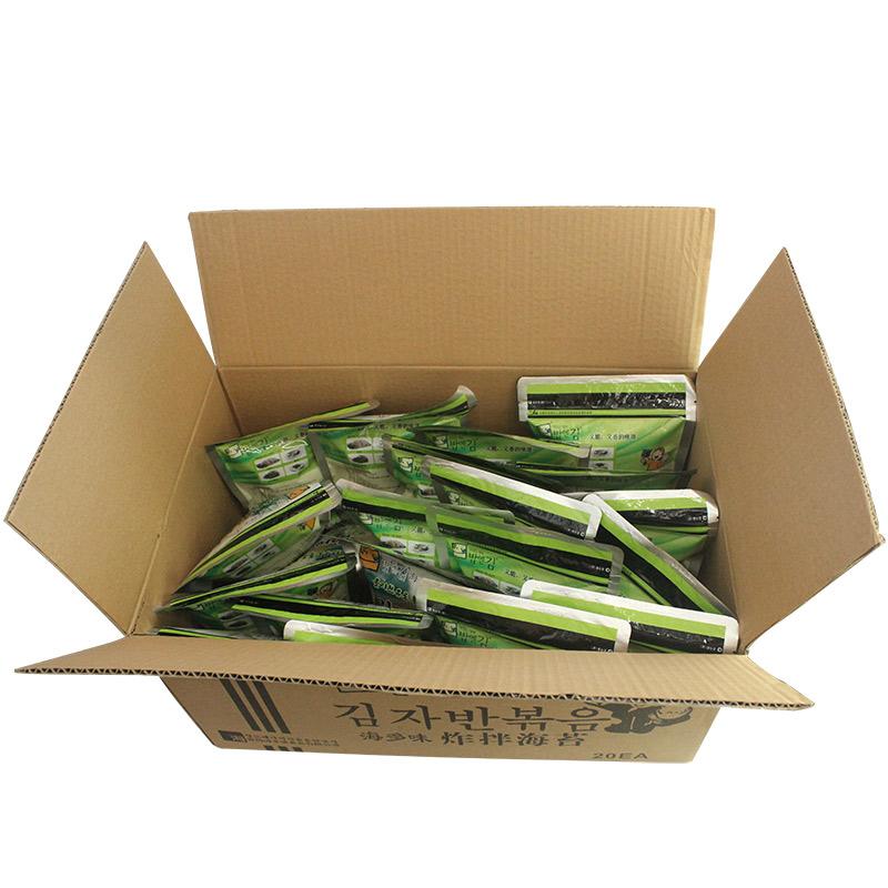 包 20 70 韩式拌饭海苔碎海多味炸拌海苔橄榄油芝麻炒海苔即食零食