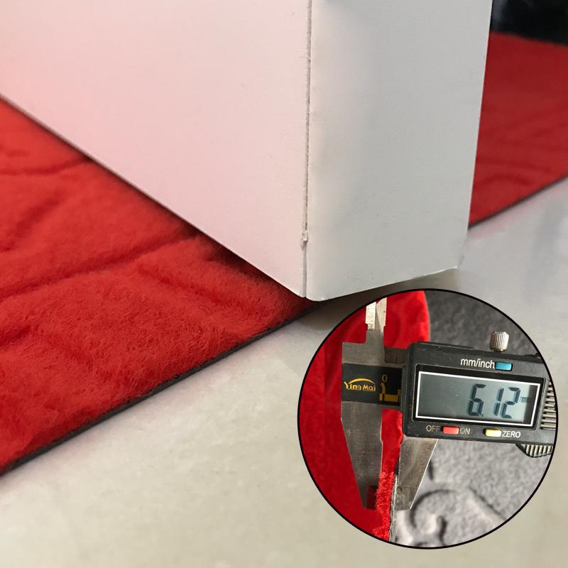 可裁剪门厅门口地垫门垫绒面过道走廊楼梯商场防滑吸水定制红地毯