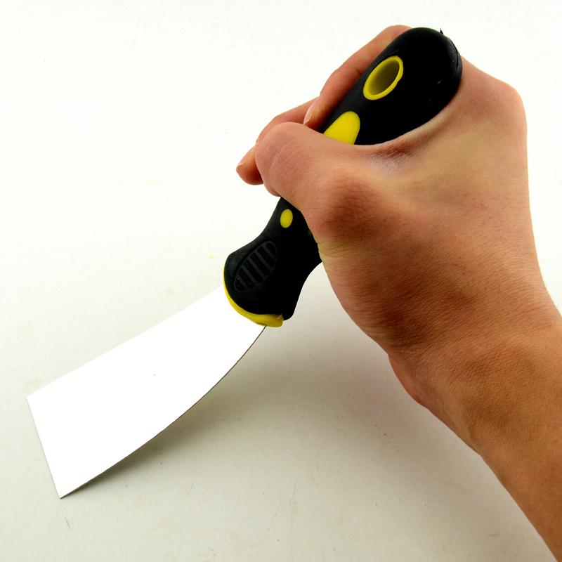 不锈钢加厚油灰刀腻子工具填缝小铲刀不锈钢泥铲子清洁劈刀批开刀