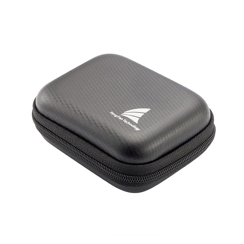 丰帆 入耳式耳机收纳盒手机耳塞包U盘蓝牙数据线配件数码盒整理袋
