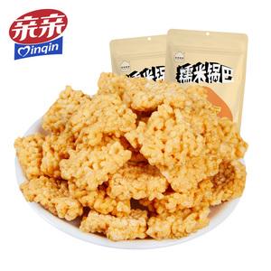 亲亲糯米锅巴咸蛋黄味110g*4