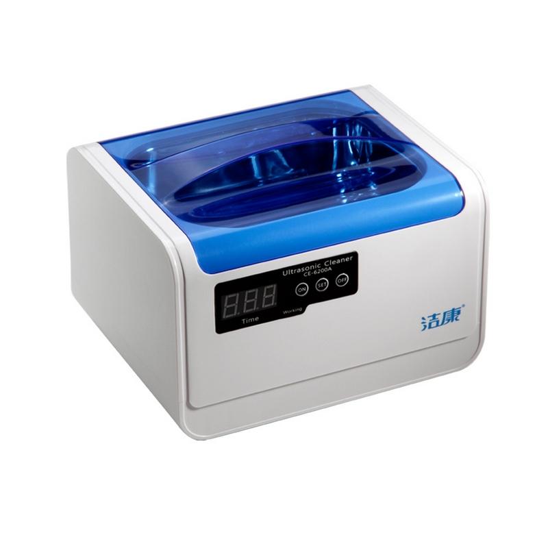超声波眼镜清洗机洁康CE-6200A表带首饰牙套清洗器洗眼镜