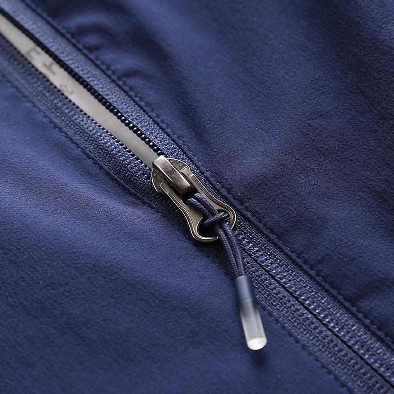 2018春秋新款外套户外运动夹克薄款风衣青年男装冲锋速干软壳上衣