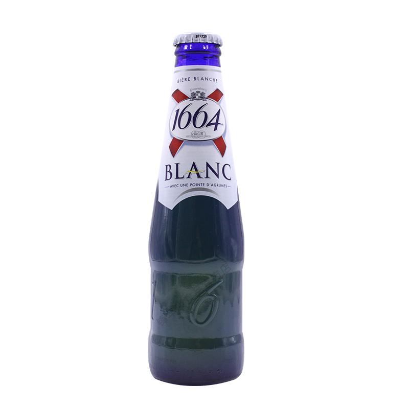 24 瓶原味白整箱装临期特价 1664 250ml 啤酒法国进口精酿果味凯旋