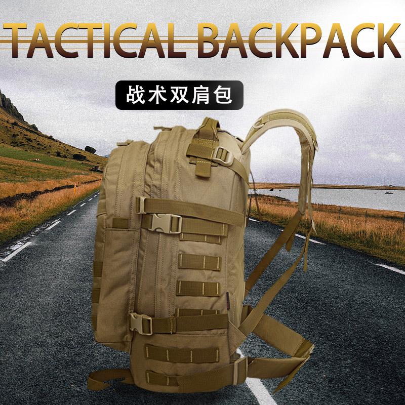 2018加强版旅行背包双肩包 男户外背包多功能户外包迷彩背包40升