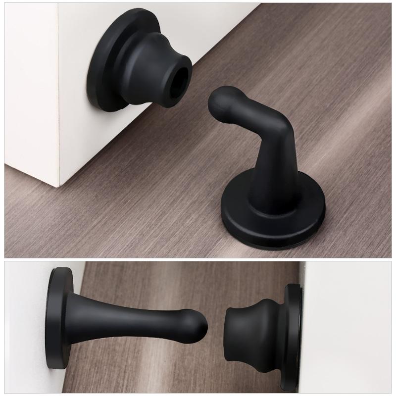 门吸静音免打孔硅胶防撞门挡地吸卫生间门碰门防撞器吸门器门顶