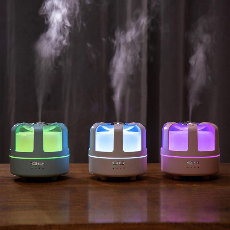 香薰灯香薰机加湿器超声波熏香炉家用室内精油插电卧室喷雾 NSURE