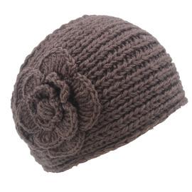 中老年人包头帽老太太帽子女春秋冬季包头帽头巾带套头毛线月子帽