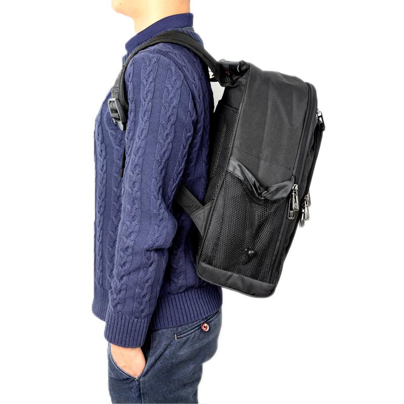 钢盾S023019 双肩包男背包工具包 男士电脑包高中生书包休闲旅行