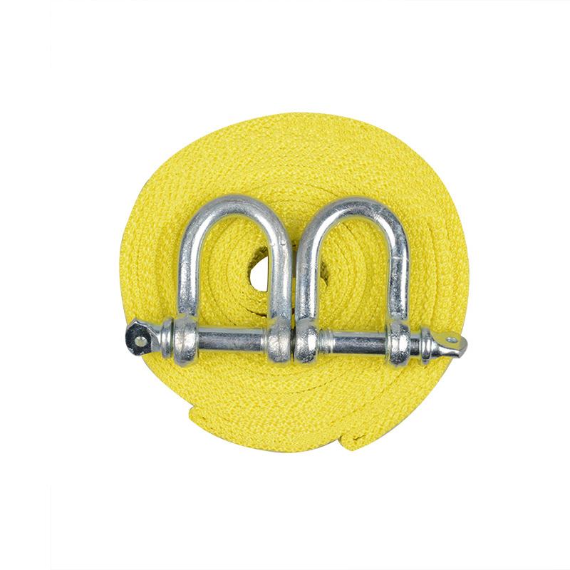 汽车拖车绳加厚 越野车拖车带5米5吨牵引绳强力车用拉车绳捆绑带