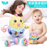 0-1 years old baby rattles hand grip can chew 3-6-12 9 months infant baby boy girl Puzzle