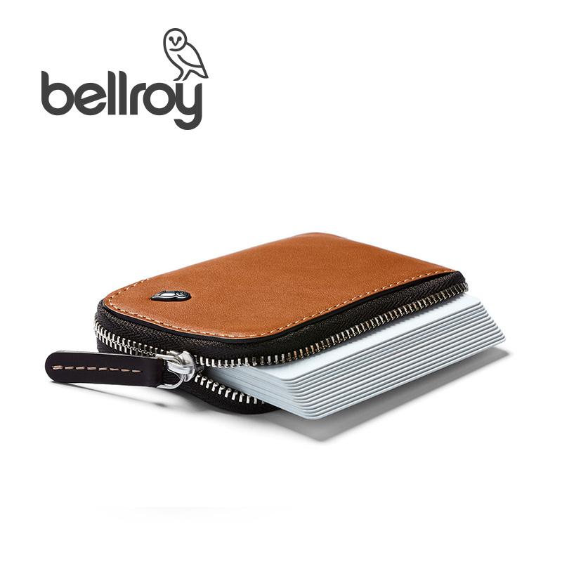 带卡槽新品 男 真皮钱包迷你卡包 Pocket Card 澳洲专柜进口 Bellroy