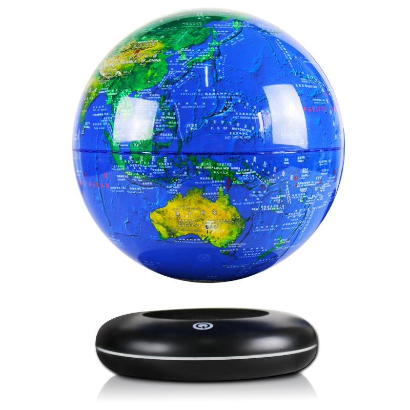 磁懸浮地球儀辦公室家居裝飾品擺件擺設生日創意國慶中秋禮品禮物