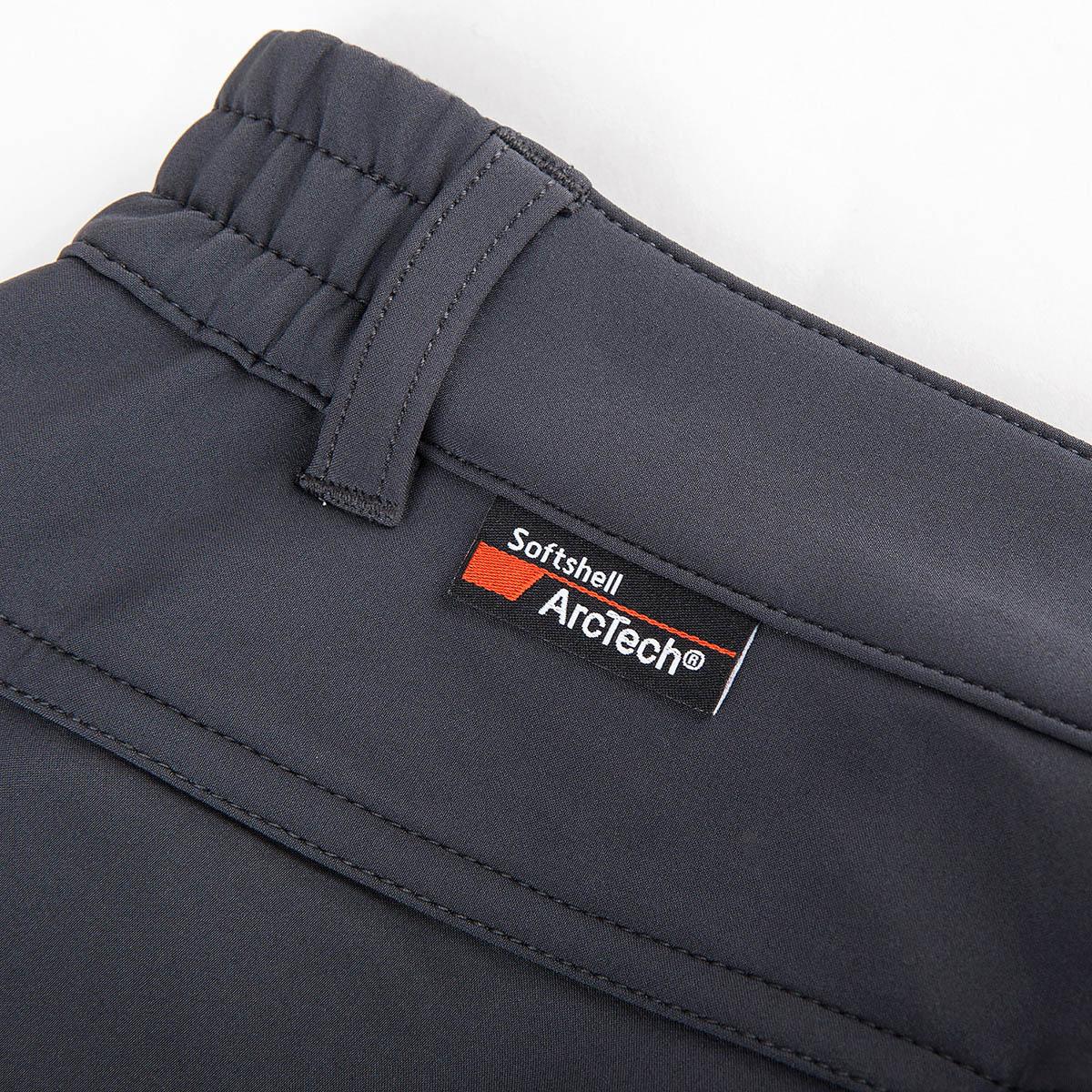极星户外男软壳裤秋冬保暖防风软壳裤AGPC21217AGPC22218