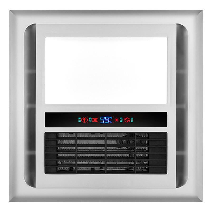 三合一浴霸灯卫生间嵌入式多功能暖风取暖器遥控风暖浴霸300x300