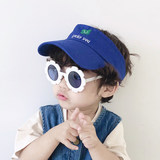 Summer day children anti-UV sunglasses cute lace boys and girls sunglasses children travel Korean version of the glasses tide