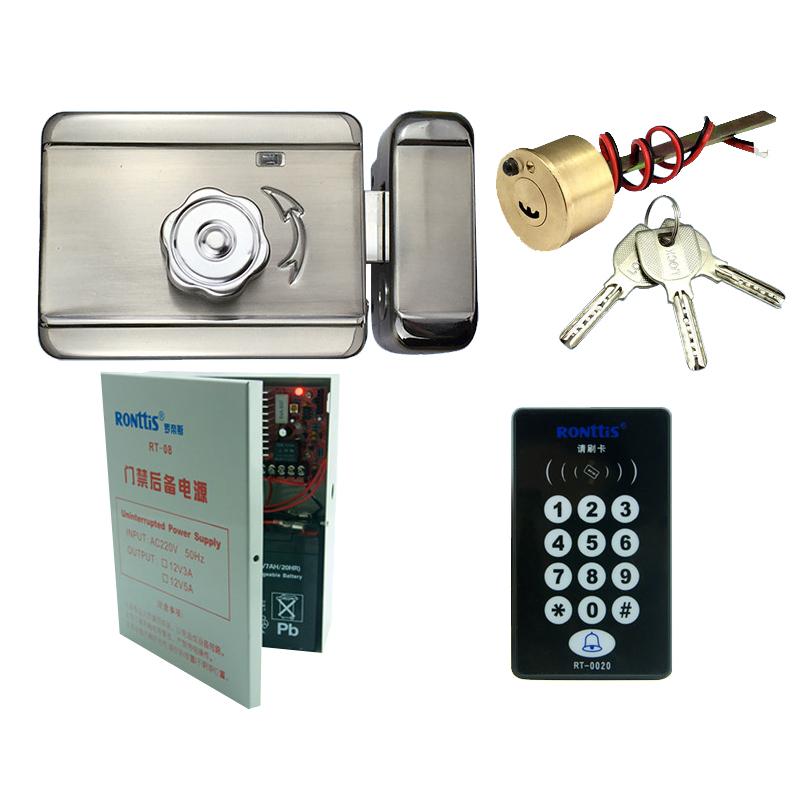 RONttiS罗帝斯门禁系统电控锁出租屋刷卡锁电子门锁电机锁电磁锁