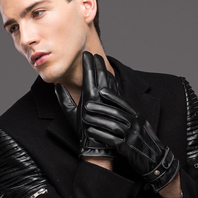 皮手套男女士冬季骑行保暖防水防风加绒加厚韩版棉手套骑车摩托车