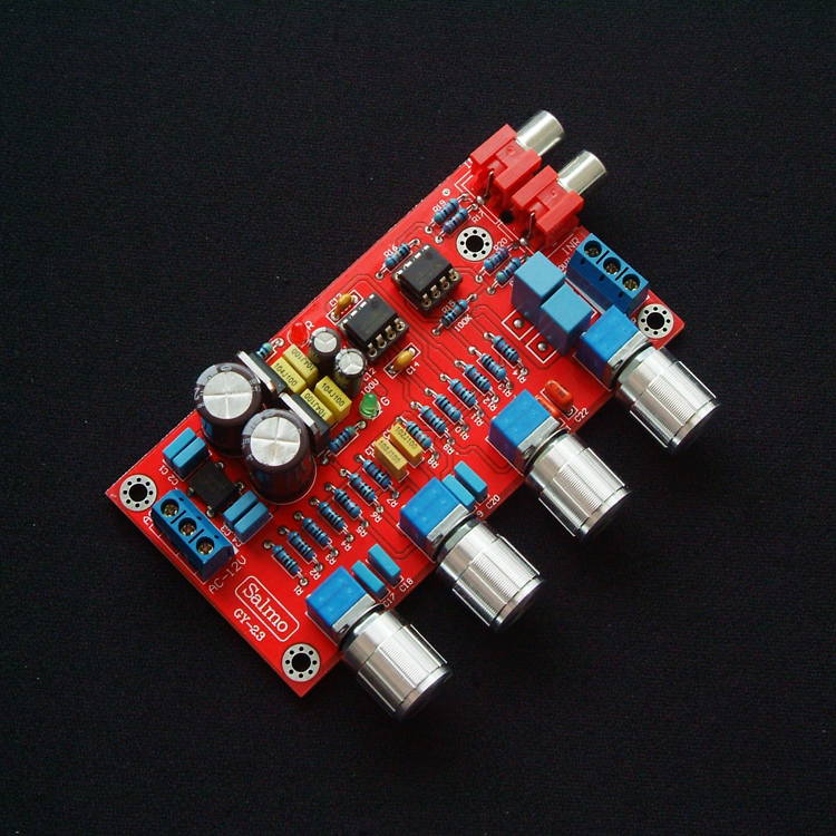 ne5532发烧级成品前级前置放大2604音调板hifi功放均衡2.0调音板