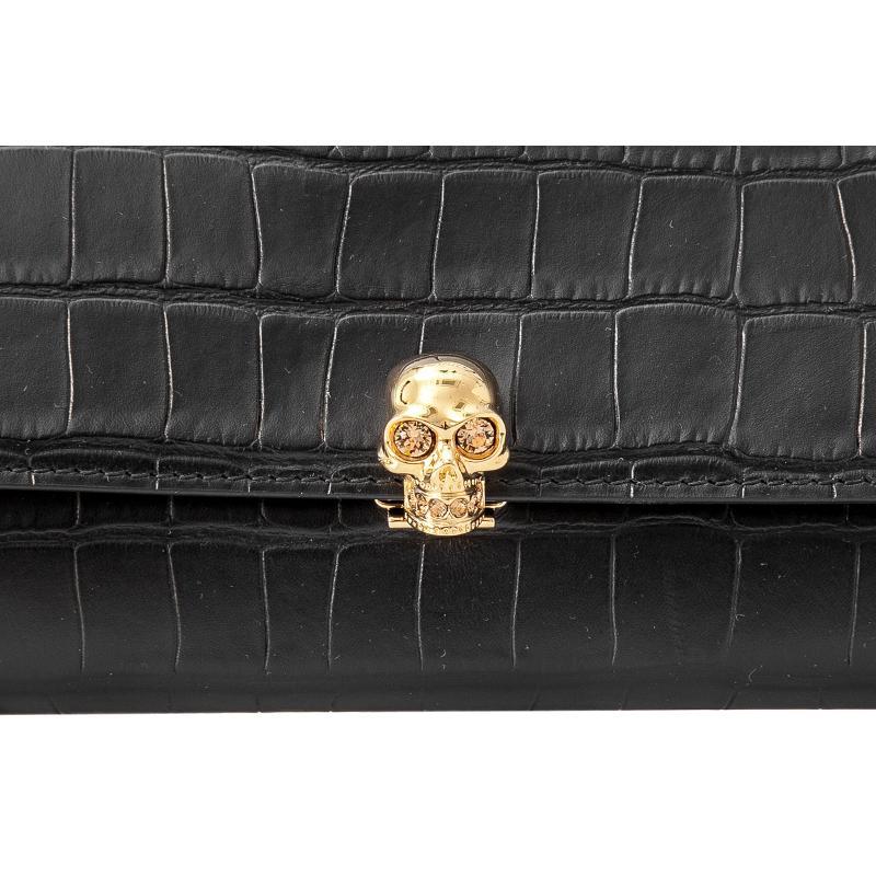 系列女士链条长款钱包 Skull 女包 McQueen Alexander