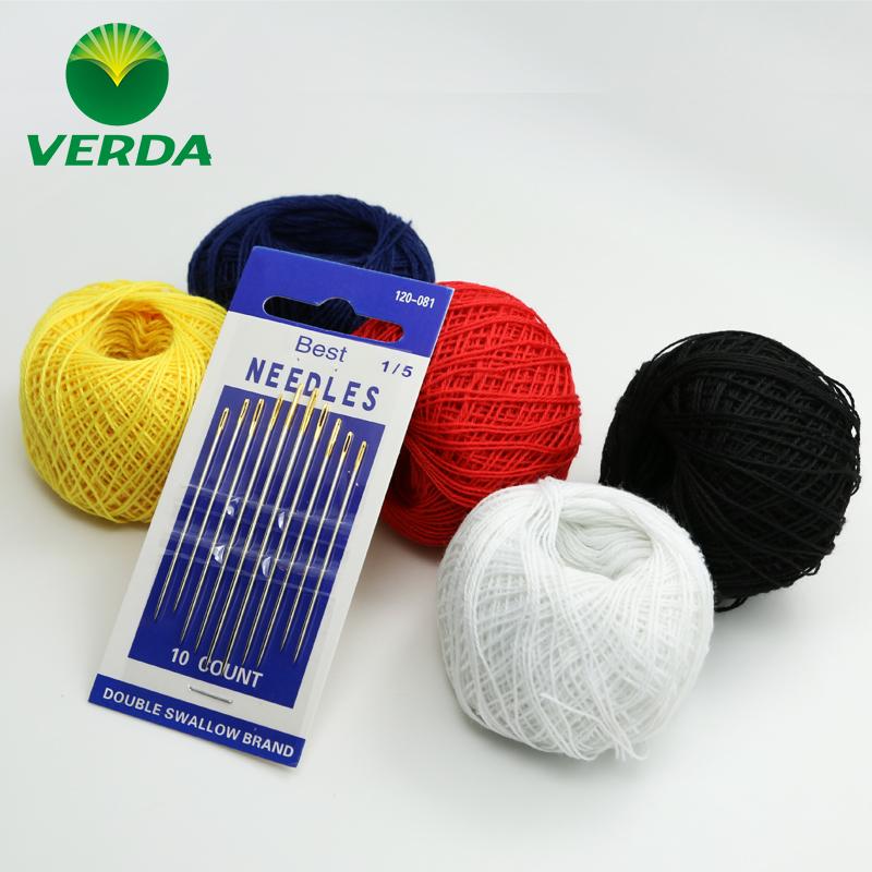 维达大号孔缝纫金尾针缝被子衣服针手工DIY缝衣针家用小巧裁缝针