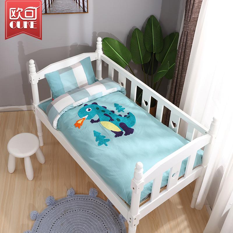 幼儿园被子三件套含芯宝宝入园床品六件套儿童床棉被午睡被褥纯棉