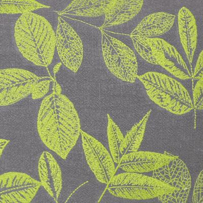 露之熙水彩绿色植物北欧美式刺绣抱枕沙发靠垫田园乡村复古苎麻