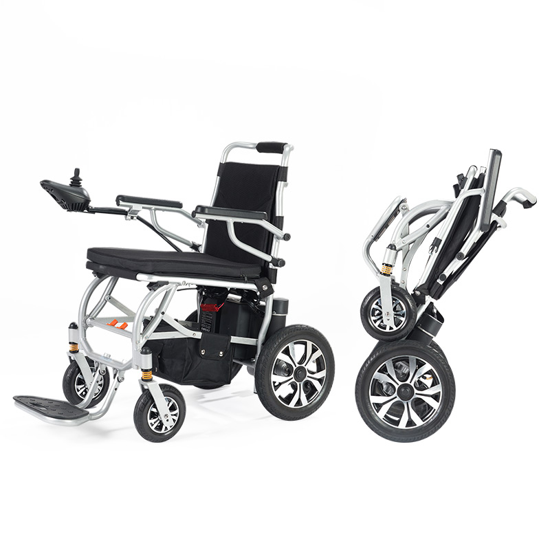 九圆电动轮椅车双人智能全自动可折叠轻便老人代步车残疾人锂电池