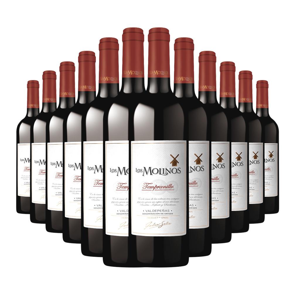 瓶 12 750ml 级干红葡萄酒 DO 西班牙魔力风车 正善牛肉哥 DO 750ml DO 西班牙魔力风车  正善牛肉哥