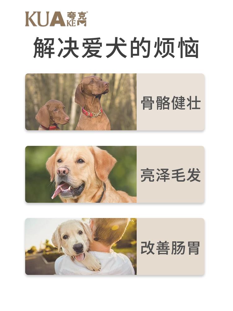 夸克狗粮幼犬10kg公斤通用型贵宾柯基比熊拉布拉多边牧全犬种20斤优惠券